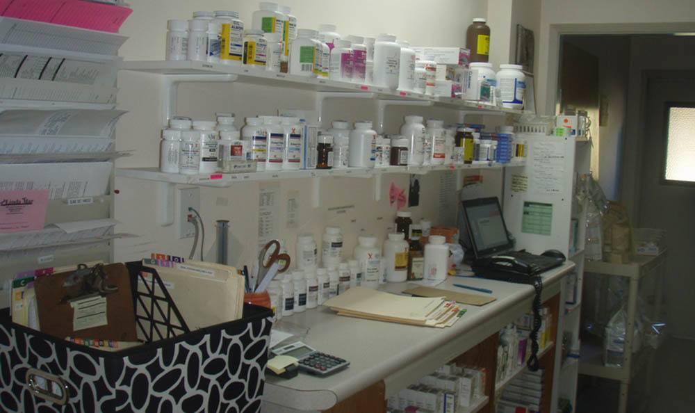 Pharmacy Area