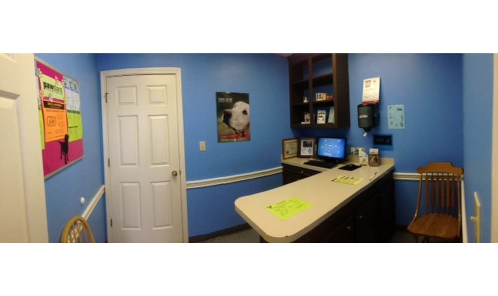Northwest Rankin Animal Clinic Receptionist Desk In Flowood
