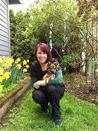 Team member Mary at Santa Clara Animal Hospital