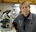 John Bailey, DVM at animal hospital in Cary