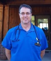 Dr. Jones of Lenoir Veterinary Hospital