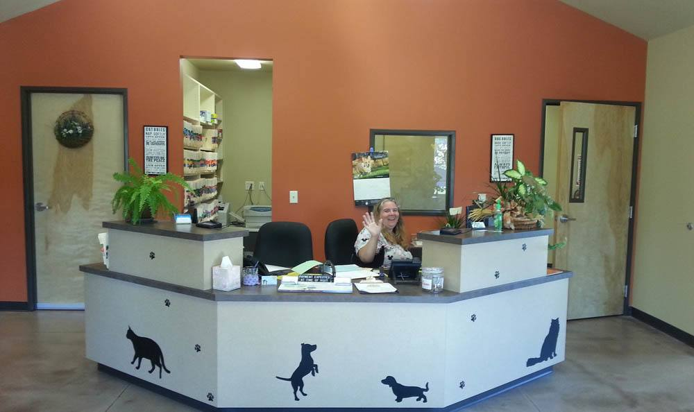 Front Counter At Hendricks Veterinary Hospital In Boise
