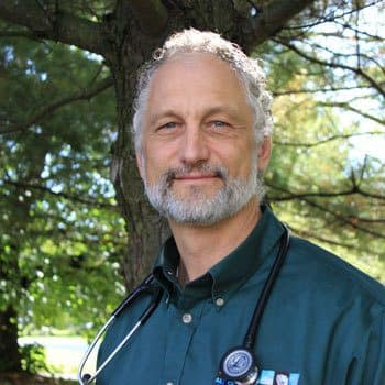 James Albert, Managing DVM at animal hospital in East Amherst