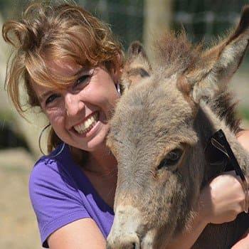 Deanna at All Creatures Animal Hospital.