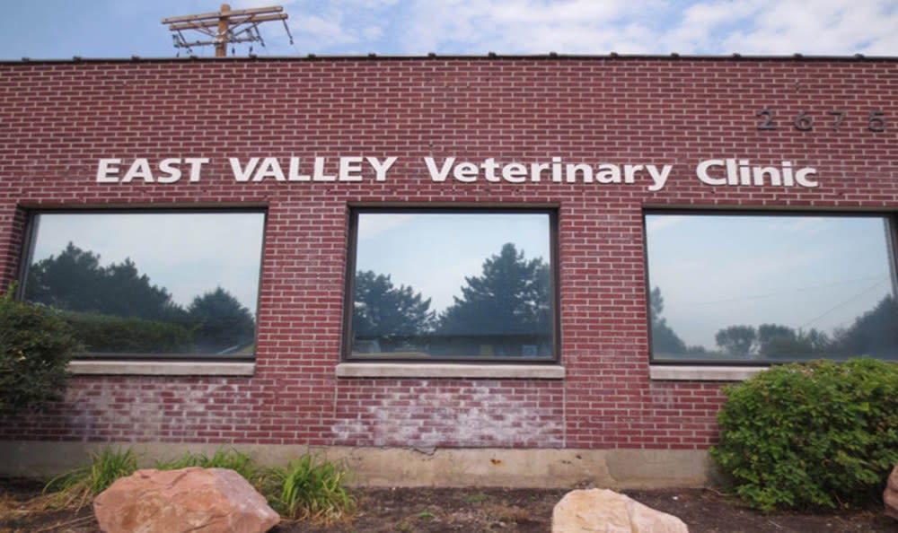 Exterior at East Valley Veterinary Clinic in Salt Lake City