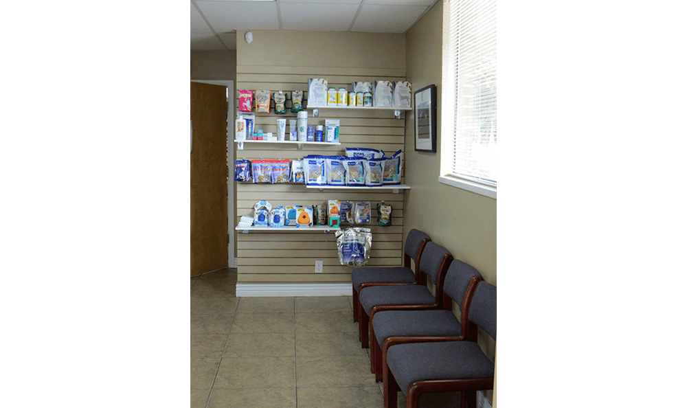 Display  at East Valley Veterinary Clinic in Salt Lake City