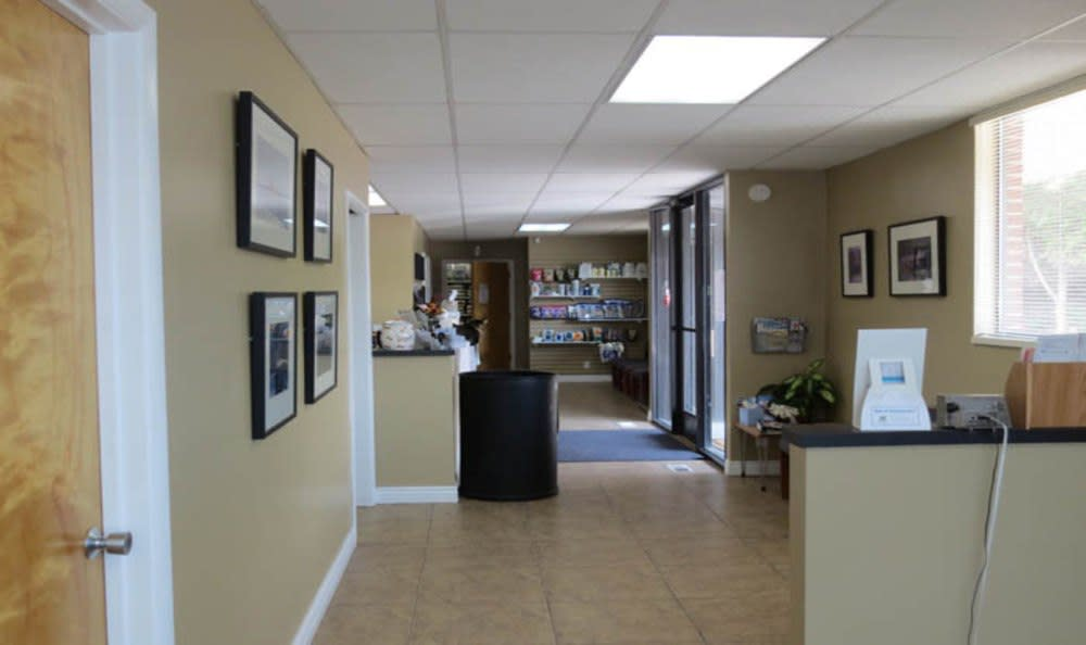 Lobby at East Valley Veterinary Clinic in Salt Lake City
