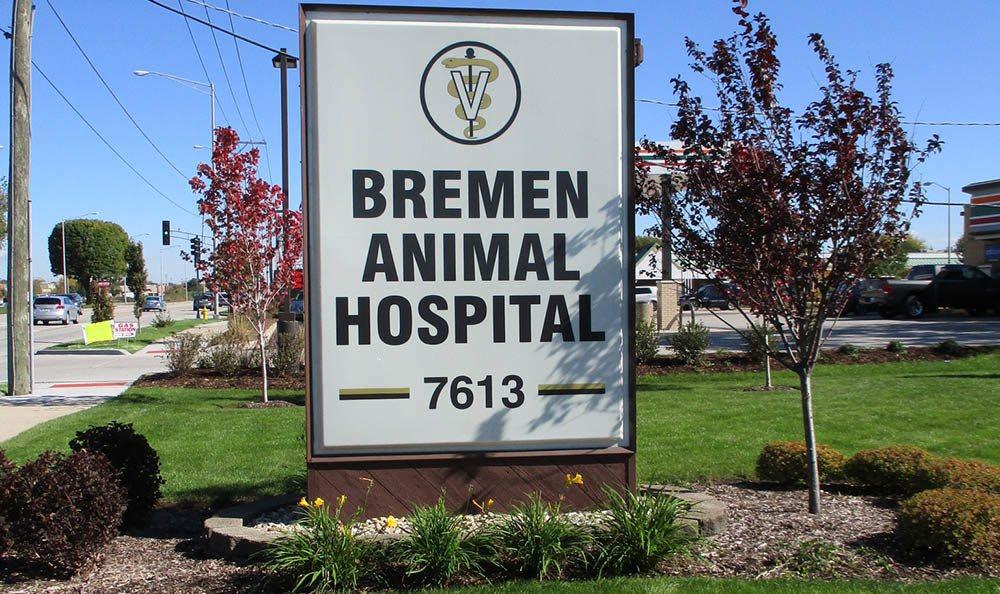 Bremen Animal Hospital Signage
