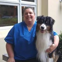 Sue Paterson at Merrimack Veterinary Hospital