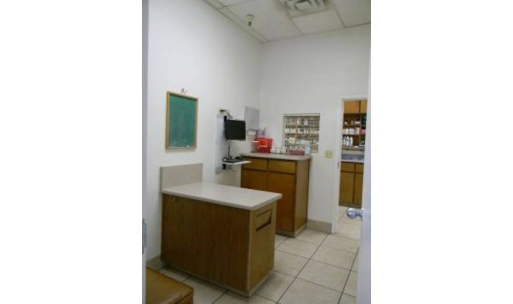 Exam Room At All Creatures Animal Clinic