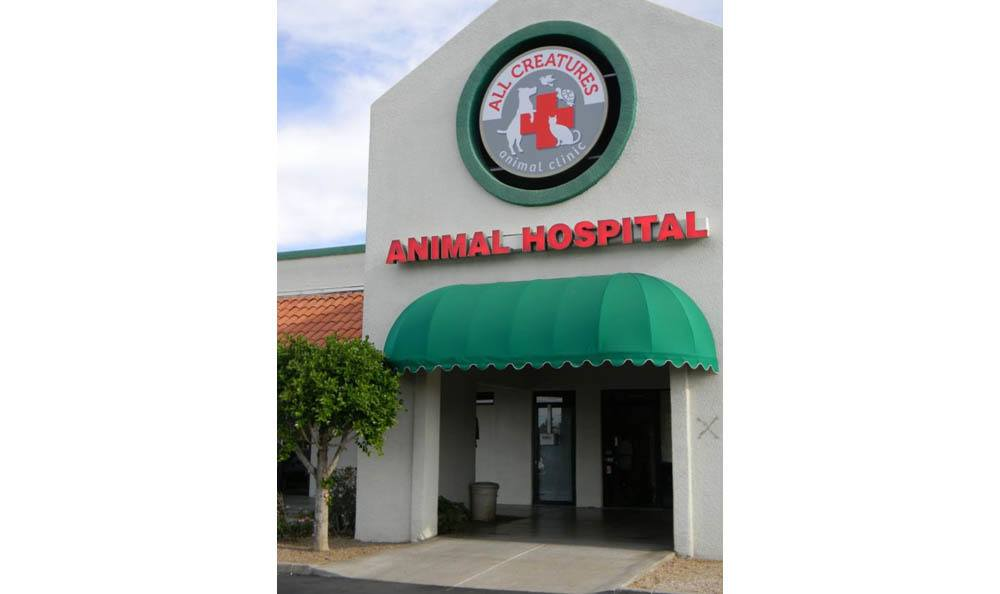 Front Entrance At All Creatures Animal Clinic