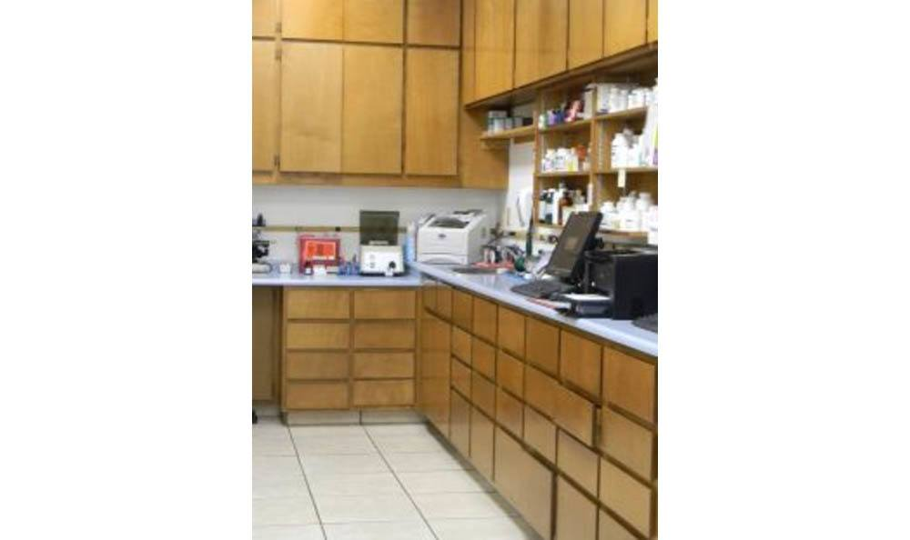 All Creatures Animal Clinic In House Pharmacy