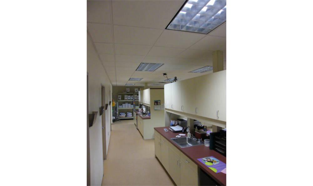 Pharmacy area at Centralia Animal Hospital