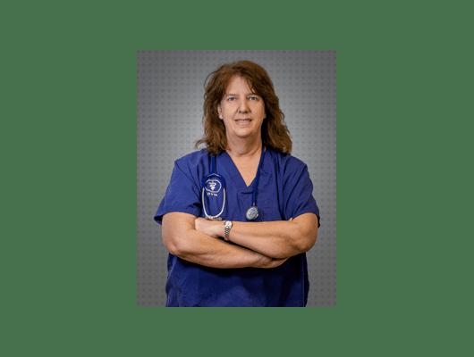 Dr. Holm of College Garden Animal Hospital