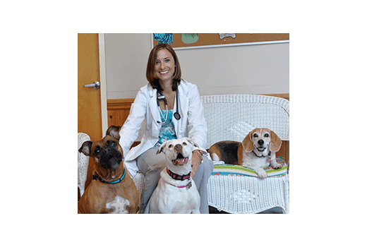 Dr. Welch of Pawleys Veterinary Hospital