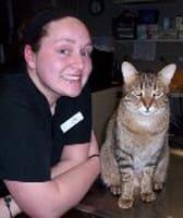 Cassy Perrine, Vet Tech at Saint Paul Animal Clinic