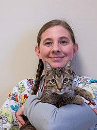 Amy at Mundelein Animal Hospital
