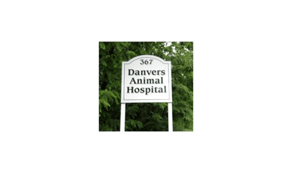 Danvers Animal Hospital Sign