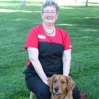 Beth at Pleasanton Animal Hospital