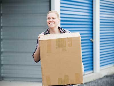Happiness and packing go hand-in-hand at Smart Storage Billings