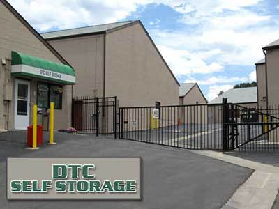 DTC Self Storage has gated access to the storage units.
