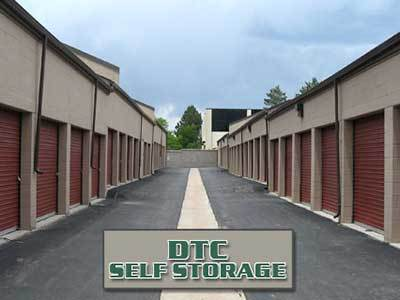 There are a variety of sizes to choose from at DTC Self Storage