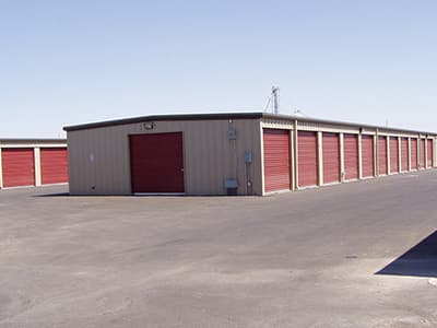 Gila Ridge Storage offers large storage units for larger items.