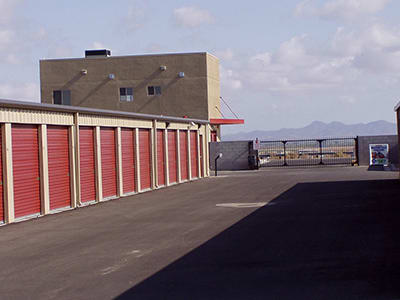 Gila Ridge Storage's gate access makes for a convenient experience.