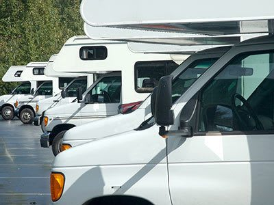 Don't need a storage unit for household items? We offer RV parking places at Palouse Self Storage.