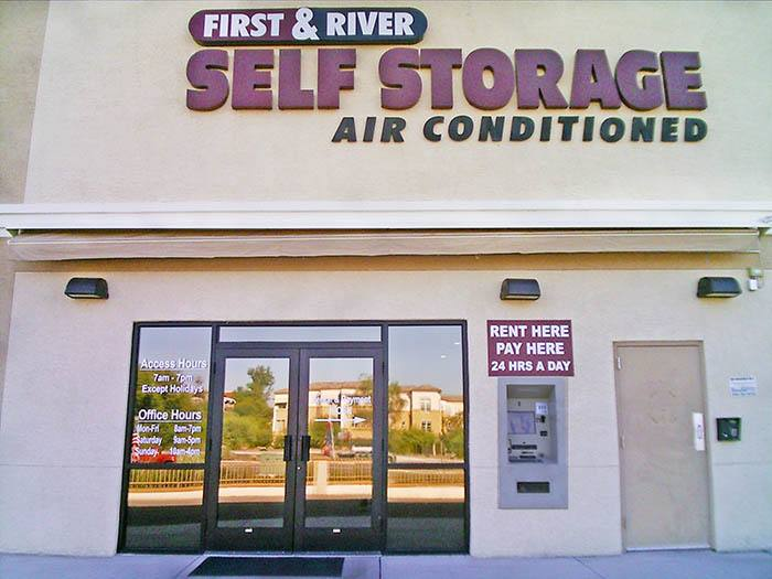 Storage made easy at First & River Self Storage in Tucson