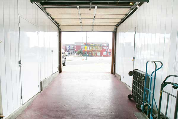 Drive up unit at Downtown Denver Storage