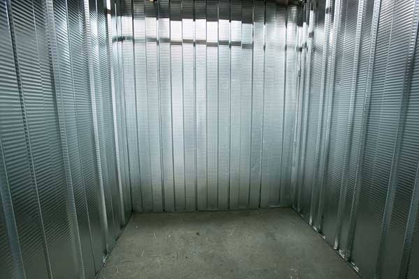 Interior of unit at Downtown Denver Storage