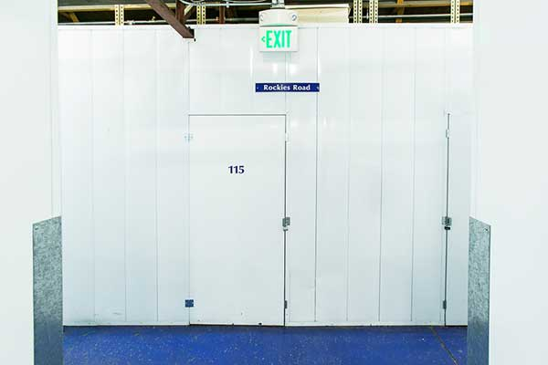 Interior unit at Downtown Denver Storage
