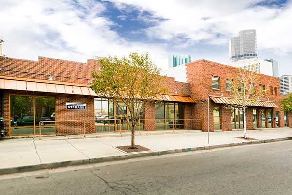 Street view of Downtown Denver Storage