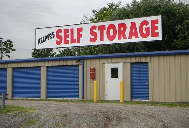 Keepers Self Storage Staten Island Front Entrance in Staten Island, New York