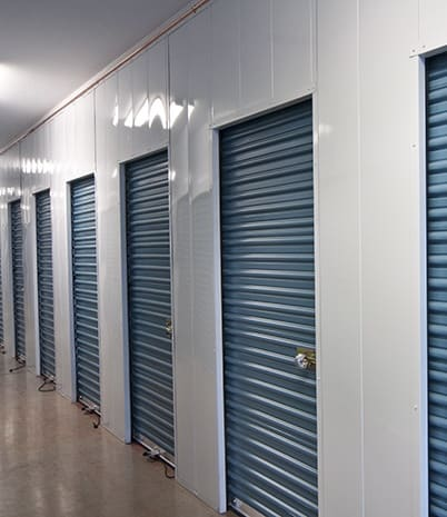 Norwalk Self Storage has a variety of interior units to store your personal items