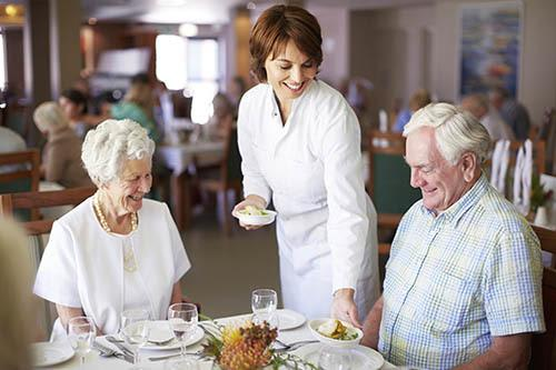 View our delicious sample menu and learn more about our friendly staff at Hibiscus Court