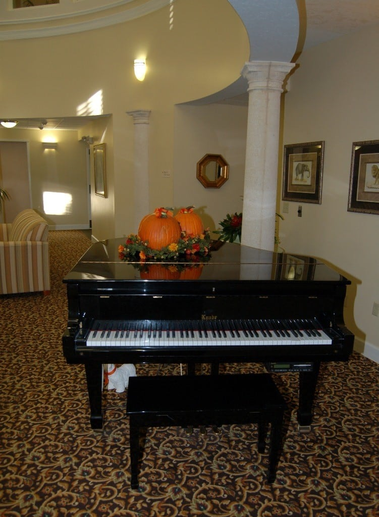 Piano at Hibiscus Court