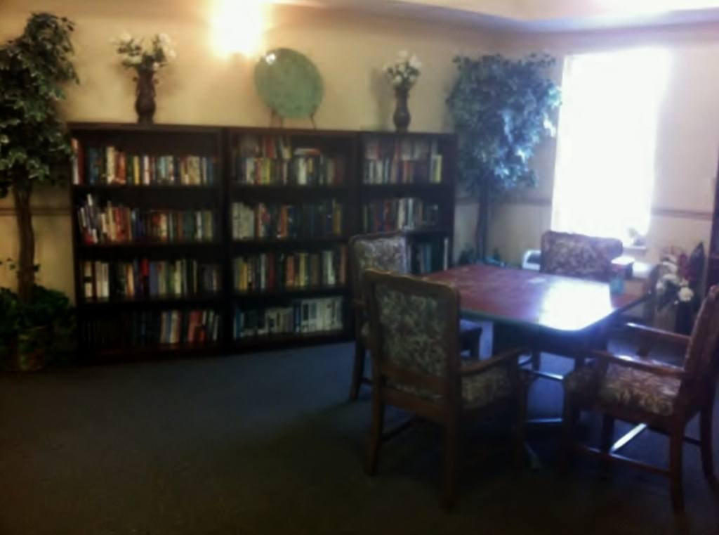 Library at Hibiscus Court