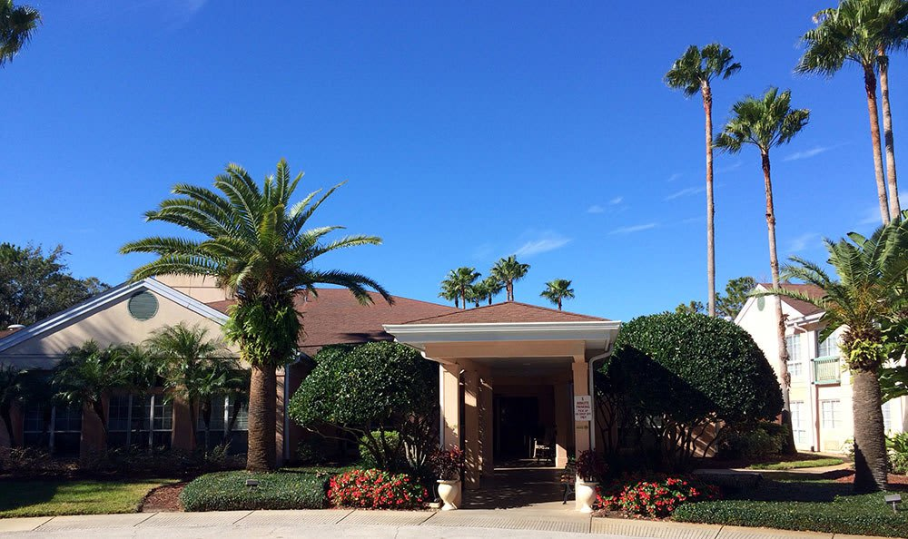 Entrance Of Senior Living In Maitland Florida