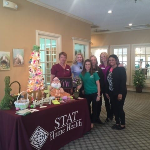 Health Fair at Savannah Court of Bastrop senior living
