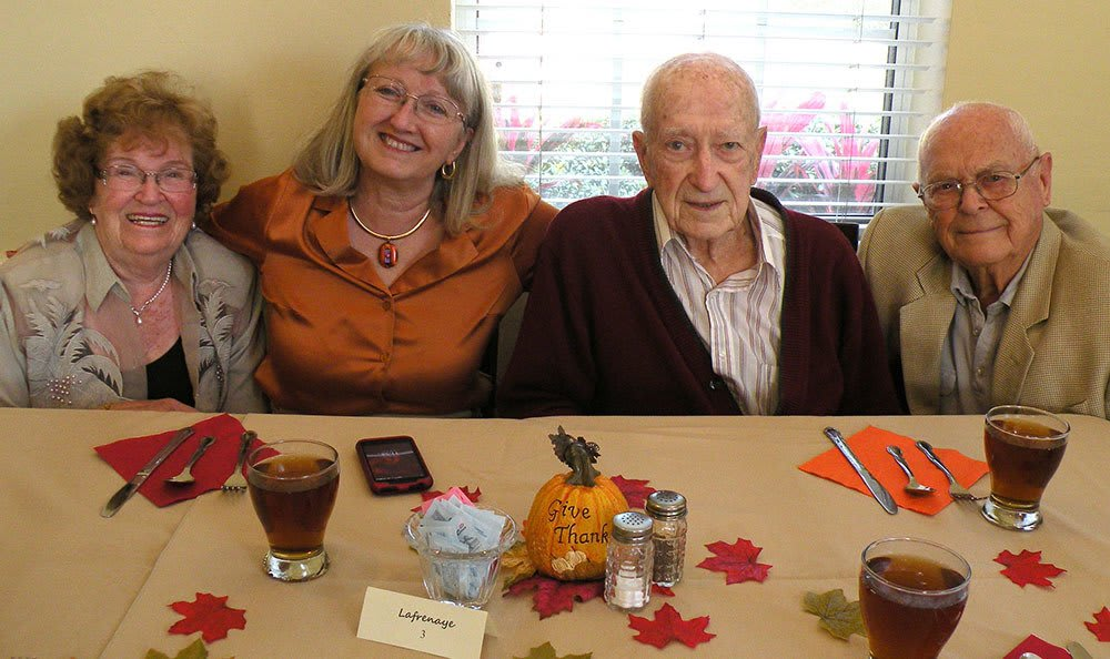 A Thanksgiving celebration at senior living in Brandon