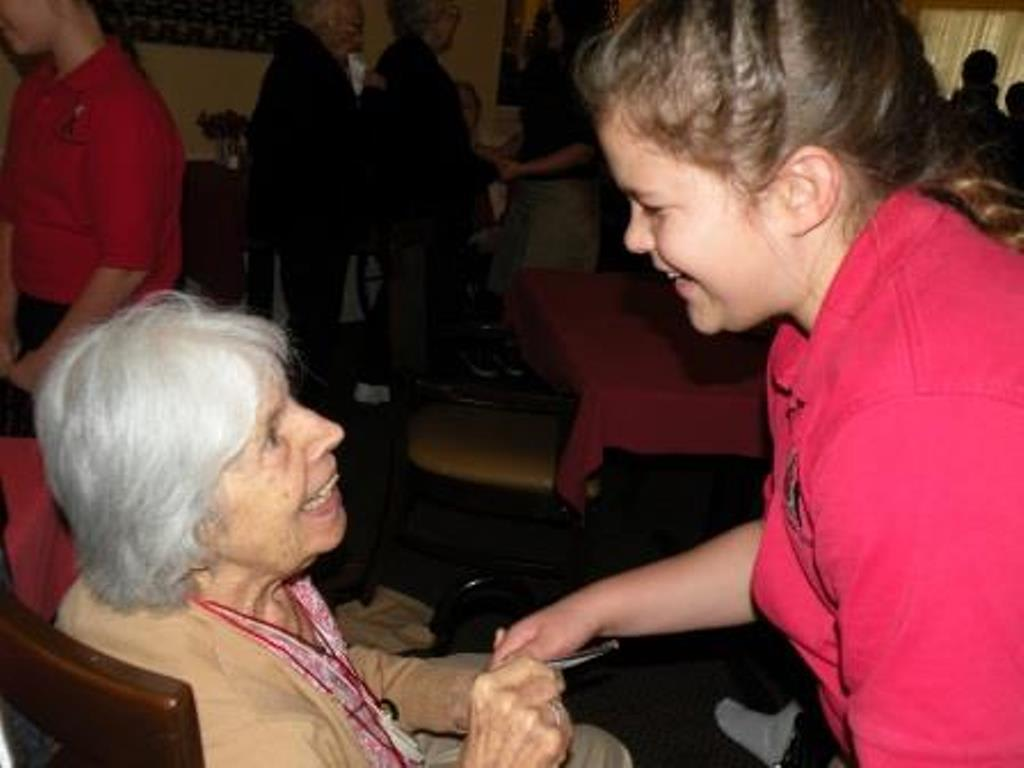 Intergenerational Event  Savannah Court of Brandon