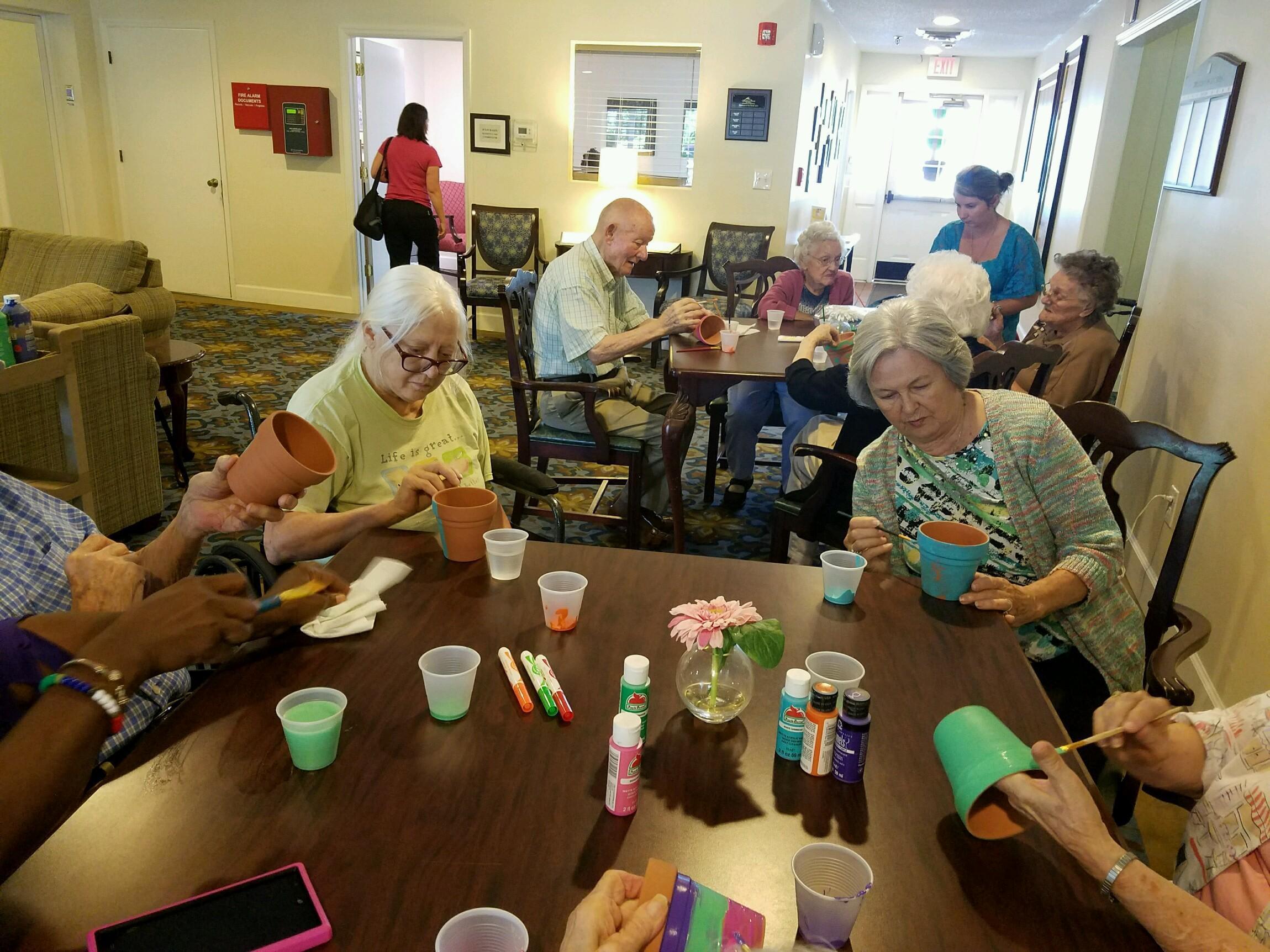 Residents at Savannah Court of Camilla Senior Living