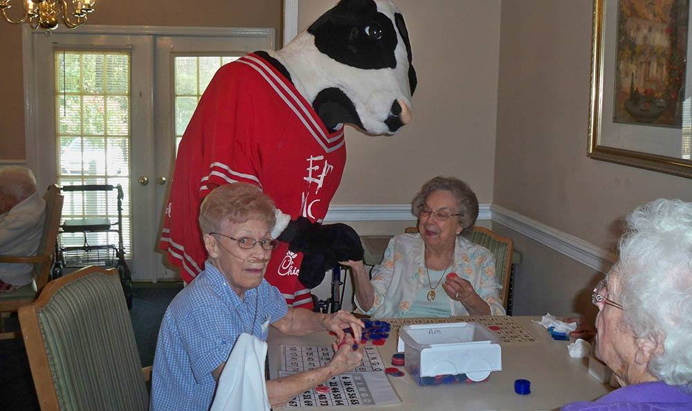 Chick-fil-a bingo at Savannah Court of Lake Wales