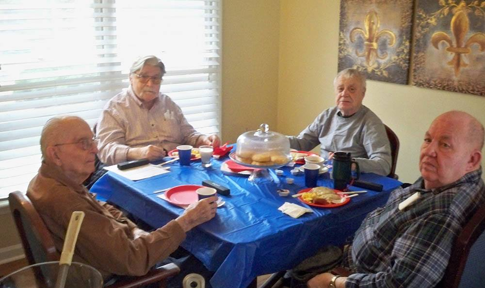 Veterans day celebration at Savannah Court of Milledgeville
