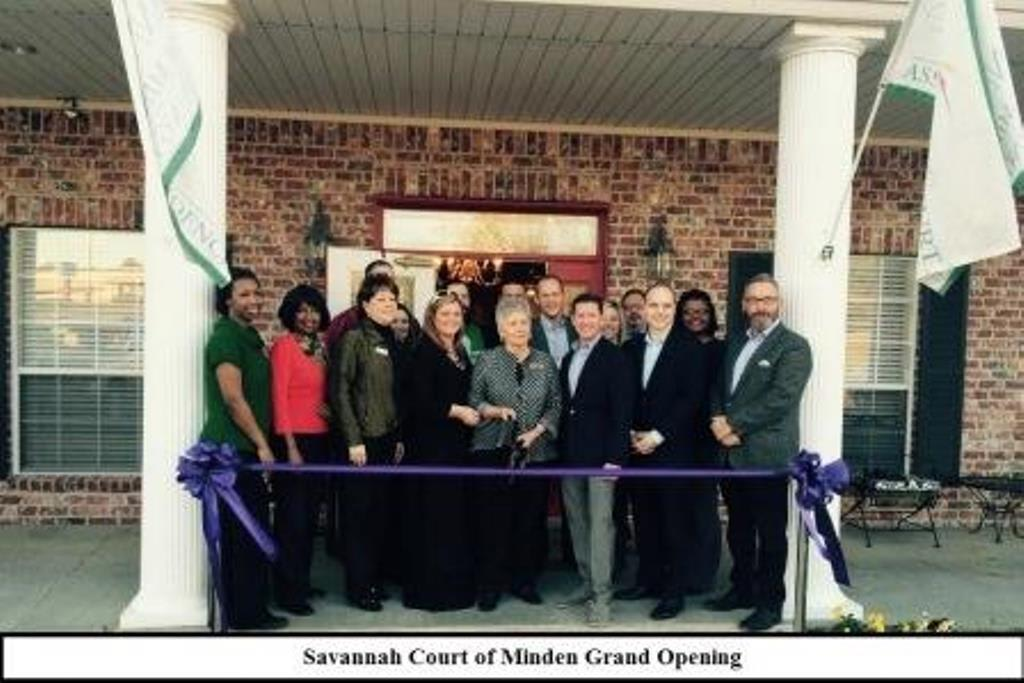 Staff at Savannah Court of Minden Senior Living