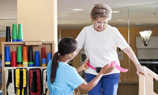 Rehab care at senior living in West Palm Beach