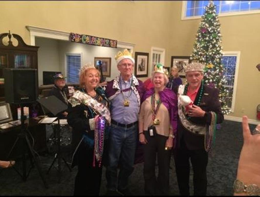 Mardi Gras at Savannah Grand of Bossier City Senior Living