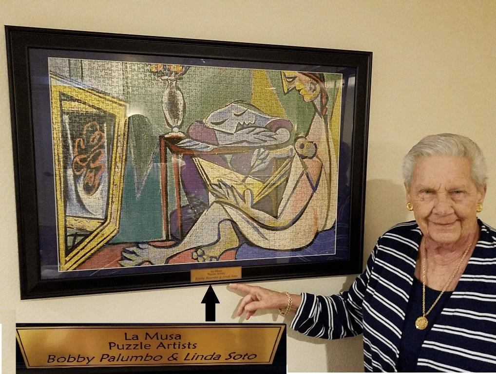Resident at Savannah Grand of Sarasota Senior Living